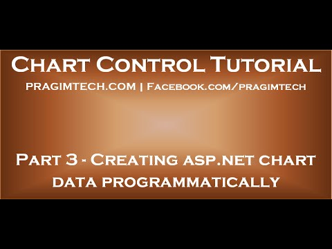 Creating asp net chart data programmatically