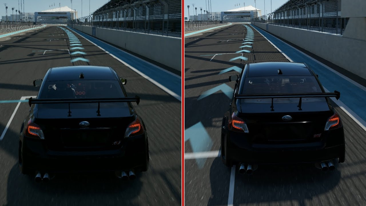 Forza 7: 4K Graphics Comparison (Xbox One S vs Xbox One X ...