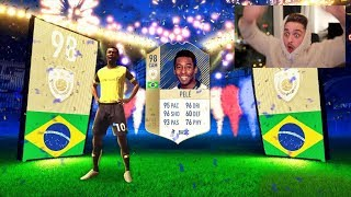 LUCKIEST PRIME ICON IN A PACK IN FIFA HISTORY!!! - FIFA 18 PACK OPENING