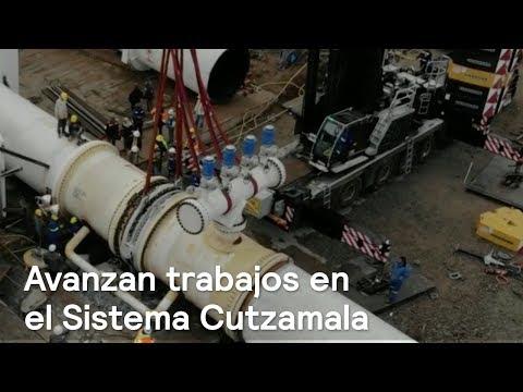 Avanzan trabajos de mantenimiento del Sistema Cutzamala - En la Mira