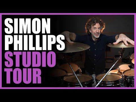 Simon Phillips: Interview & Studio Tour - Warren Huart: Produce Like A Pro