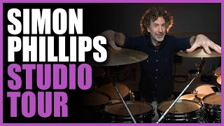 Simon Phillips: Interview & Studio Tour - Warren Huart: Produce Like A Pro