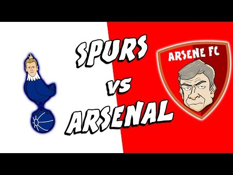 ⚪SPURS vs ARSENAL🔴TRAINING EXCLUSIVE! (North London Derby Preview 2018)