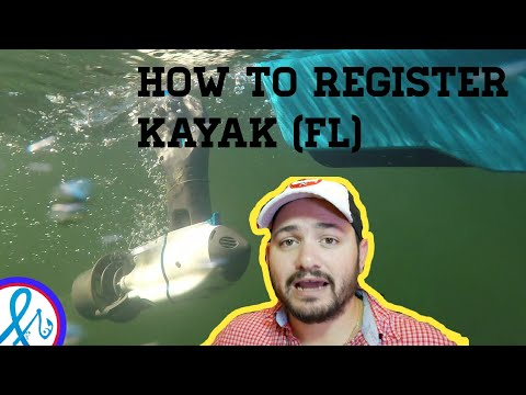 How to Register a Kayak in FLORIDA easy