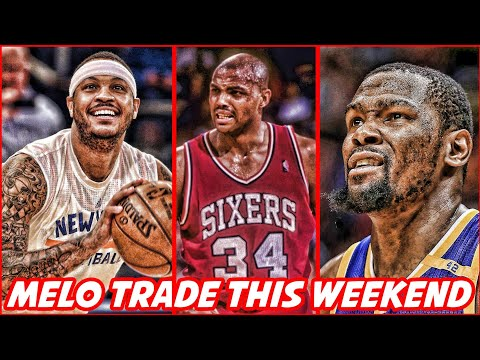 CARMELO ANTHONY WILL BE TRADED BY MONDAY? KEVIN DURANT IS CONFUSING THE WARRIORS! | NBA NEWS