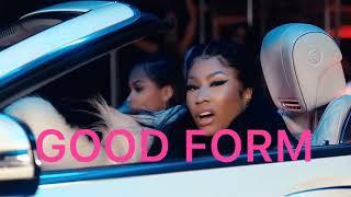 Nicki Minaj - Good Form ft. Lil Wayne Audio Cover Video