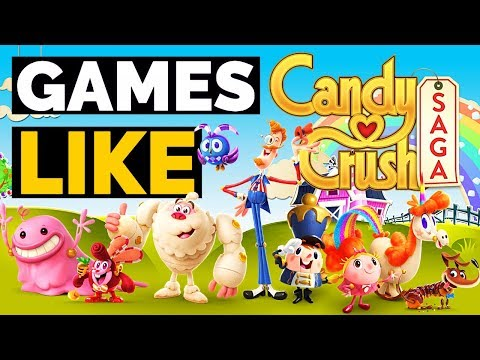 Top 10 Android Games Similar To Candy Crush Saga