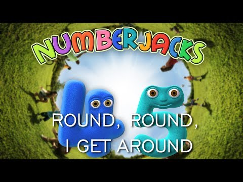 NUMBERJACKS | Round, Round, I Get Around | Audio Story