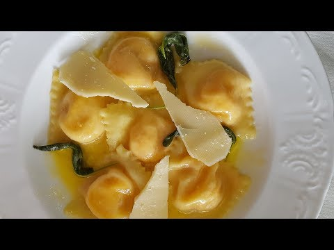 Sweet Potato and Ricotta Ravioli Recipe