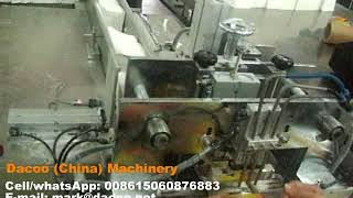 Semi Automatic Facial Tissue Paper Packaging Machines ( TZ-A-800 )