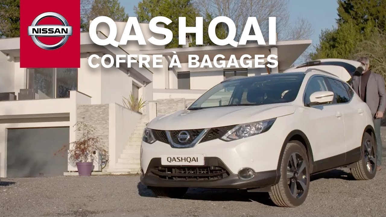 comment utiliser le coffre bagages intelligent du nissan qashqai youtube. Black Bedroom Furniture Sets. Home Design Ideas