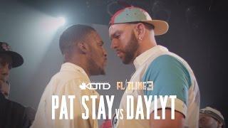 Gambar cover KOTD - Rap Battle - Pat Stay vs Daylyt (Title Match)   #Flatline3