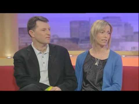 Gerry and Kate McCann in exclusive interview with Lorraine Kelly on GMTV
