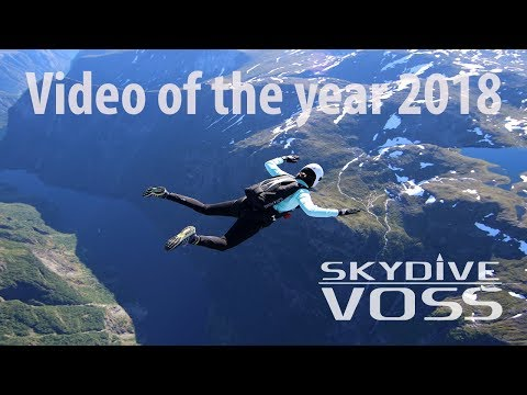 Video of the year 2018 Skydive Voss