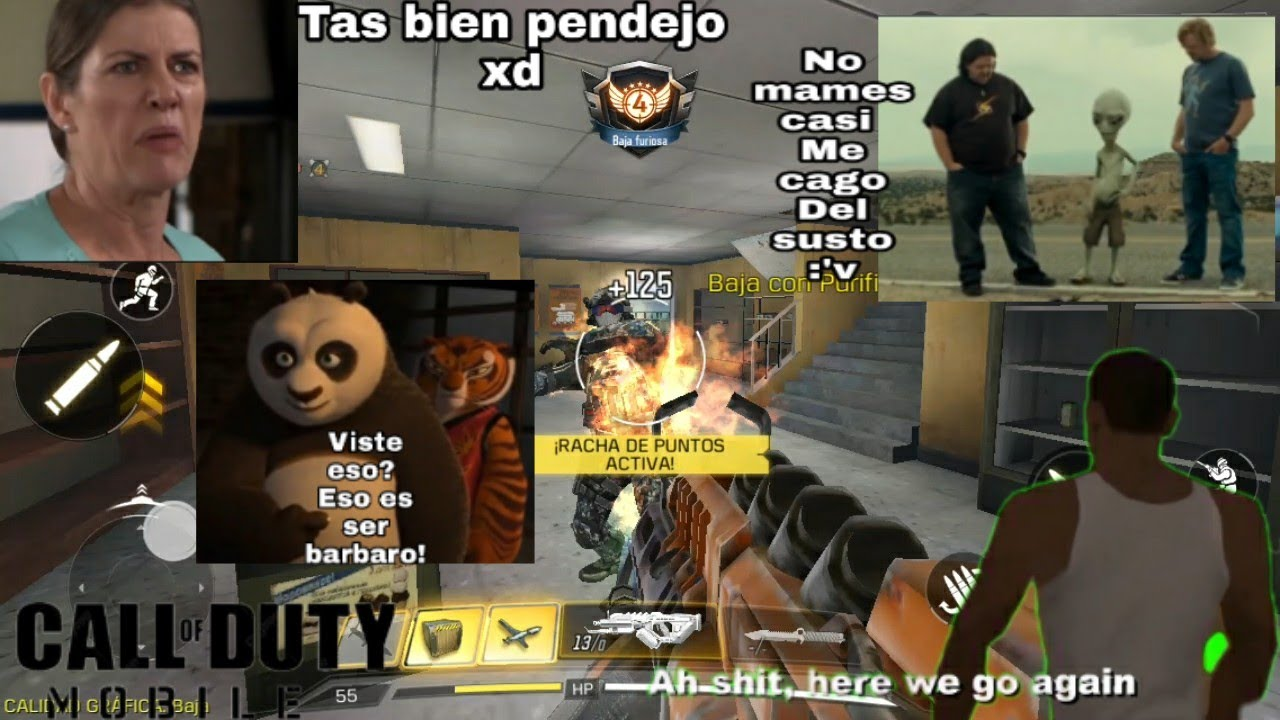 Call Of Duty Mobile Pero Con Memes Funny Moments Call Of Duty