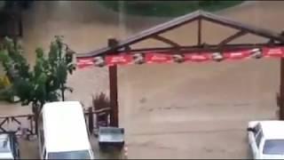 Boyabat Köprübaşı Parkını Sel Basıyor