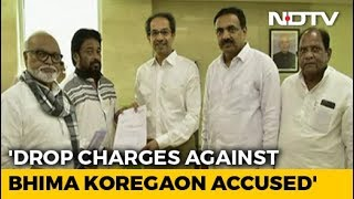 NCP Leader Seeks Relief For Bhima-Koregaon Accused From Uddhav Thackeray