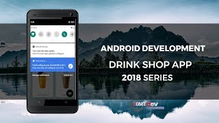 Android Studio Tutorial - Drink Shop part 46 Server App Send Order Update Notification