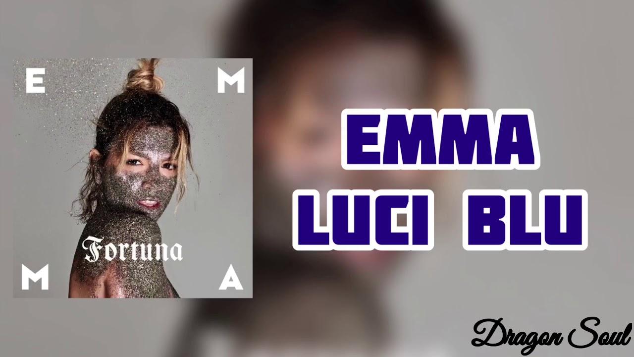 Emma - Luci Blu (Testo)