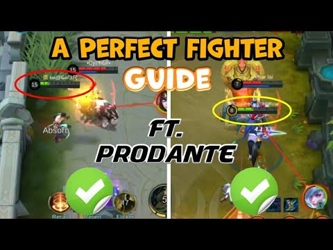 WHEN, HOW And WHAT | A Guide to PERFECT FIGHTER | Mobile Legends Bang Bang thumbnail