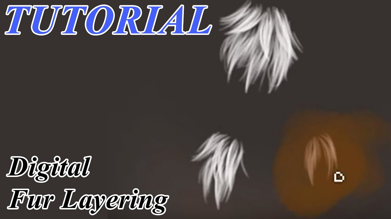 Fur Layering Tutorial (digital)
