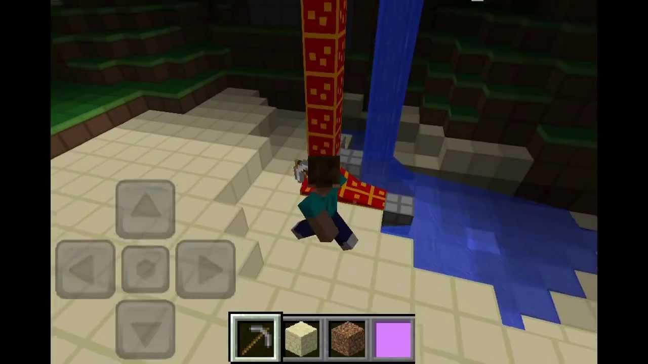 Minecraft Pocket Edition Seeds: herobrine - YouTube
