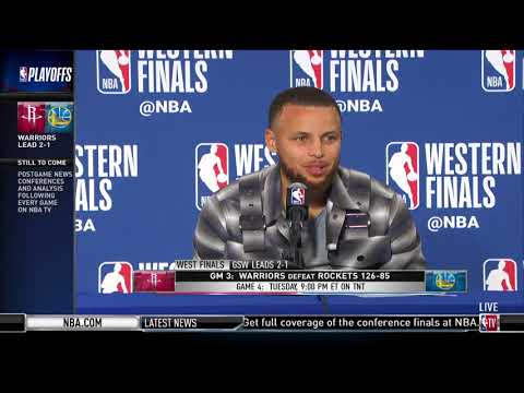 Stephen Curry | Western Conference Finals Game 3 Press Conference