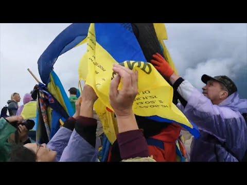 Житомир.info | Новости Житомира: Мами загиблих героїв повернулись до Житомира після підкорення Говерли і поділились враженнями