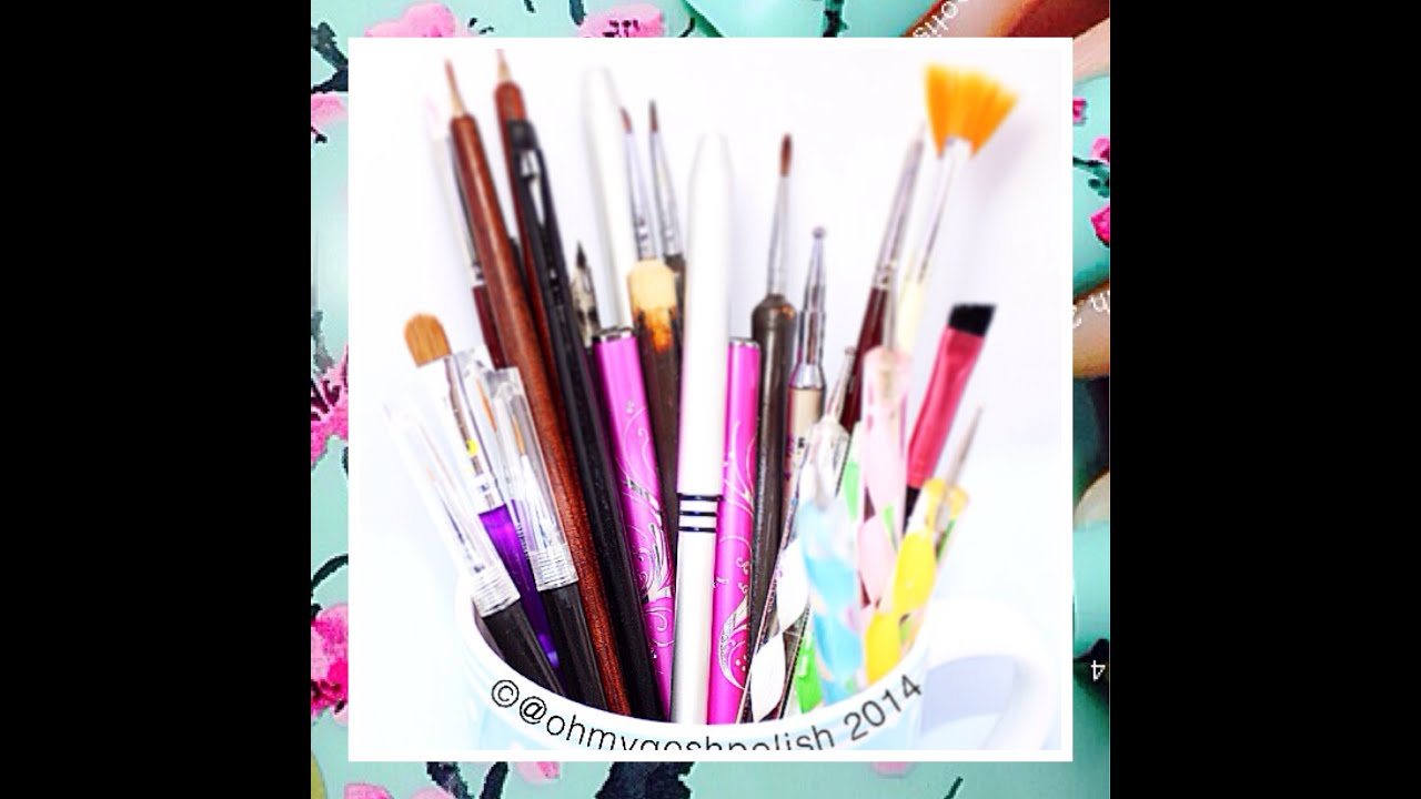 Nail Art Design With Brush : All about nail art brushes make your own detail brush