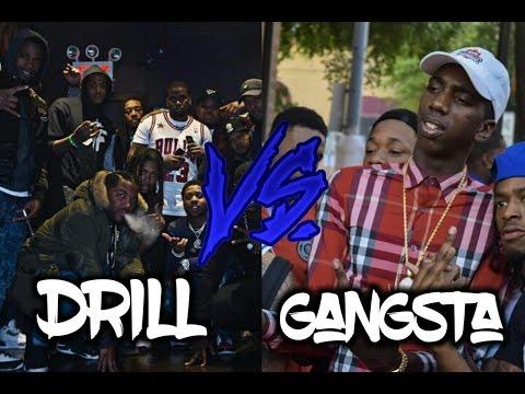 Drill Music Vs. Gangsta Rap
