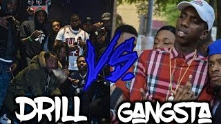 Drill Music Vs. Gangsta Rap