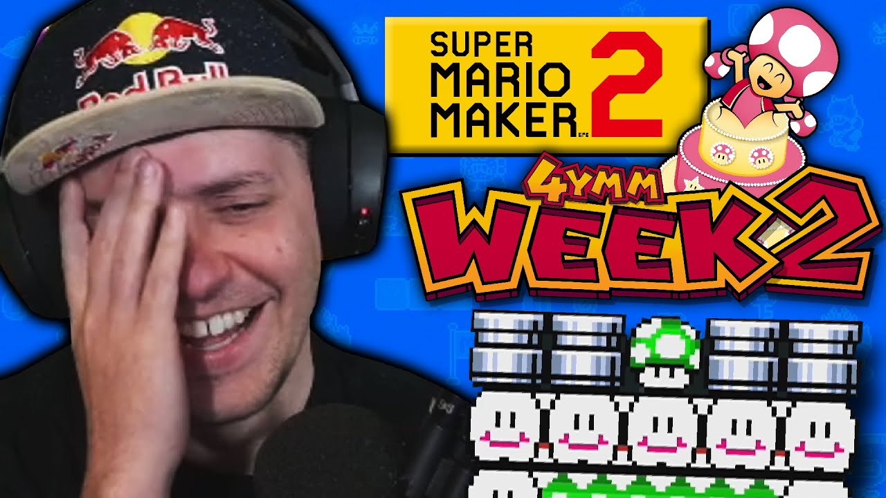 I've NEVER seen these things in Mario | Super Mario Maker 2 4YMM