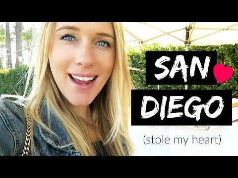 TRAVEL DIARY: SAN DIEGO, CALIFORNIA!
