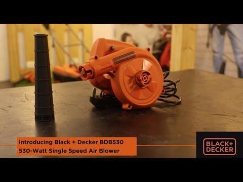 Black + Decker BDB530 530W Single Speed Air Blower
