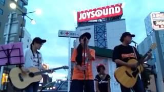2015.9.23 金山駅ストリートライブ Vol.3 1曲目『誇り』(太陽族 コピー...