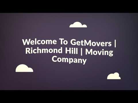 GetMovers : Moving Company in Richmond Hill