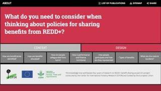 REDD+ Knowledge Tree
