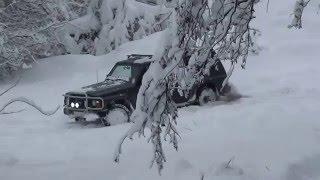 Nissan Patrol Y60 Зима2012 Сочи , горы . Dunlop Grandtrek SJ6 -  тест .(Nissan Patrol Y60 Зима2012 Сочи Dunlop Grandtrek SJ6 - тест зимней резины., 2012-01-20T00:36:23.000Z)