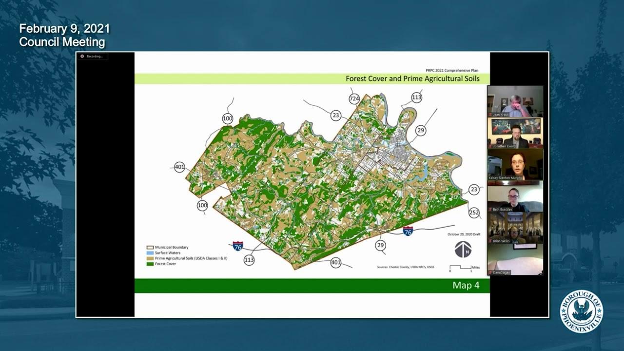 February 9 2021 Phoenixville Borough Council