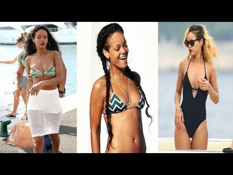 Rihanna 2018 Fashion Style || Haircut, Bikini, Figure, Lifestyle, Tattoo Photos!!!