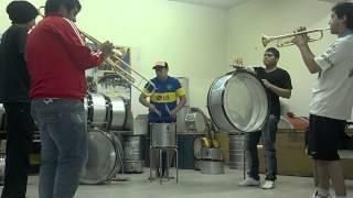 Batucada Comodorense Ensayo trompetas