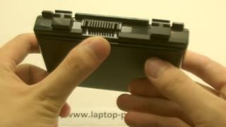 видео Аккумуляторная батарея ноутбука Asus K50 K50AB K50C K50I K50IJ K50IN (5200mAh) HQ : АКБ для ноутбуков ASUS : ExtraParts.Ru