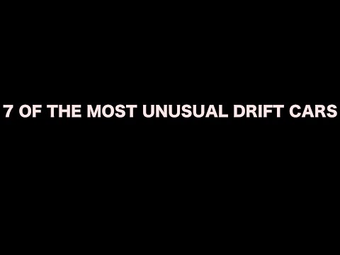 Of The Most Unusual Drift Cars Youtube