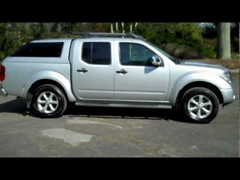 Nissan Navara 2009 09 2 5 DCi Aventura X Back Automatic Silver with Leather
