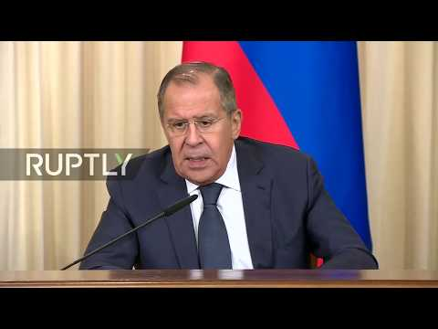 LIVE: Lavrov holds joint press conference with Mauritius FM in Moscow