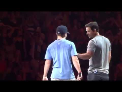 Mark Wahlberg and NKOTB - Together Again - Madison Square Garden NYC - 62215