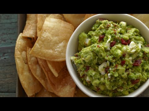 Easy Appetizers: Goat Cheese Guacamole Recipe - Weelicious