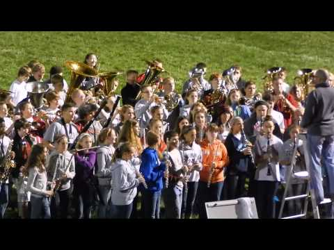 Highland Community Schools Band Night at the football game Sept. 20, 2013.