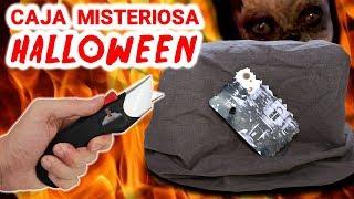 ABRO EXTRAÑA CAJA MISTERIOSA DE HALLOWEEN