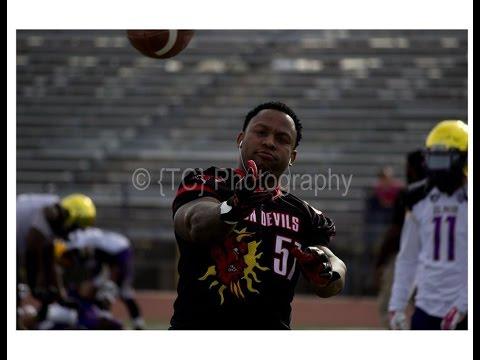 """Linebacker Paul """"Jay Will"""" Williams- El Paso Sun Devils"""